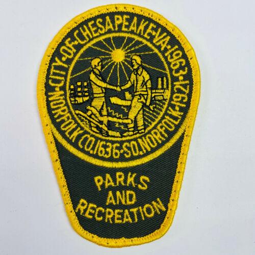 Chesapeake Parks and Recreation Virginia VA Patch (B8)