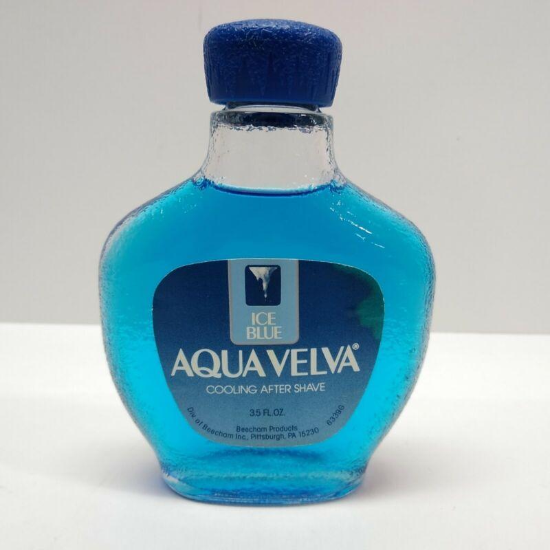 Vintage Aqua Velva After Shave Ice Blue