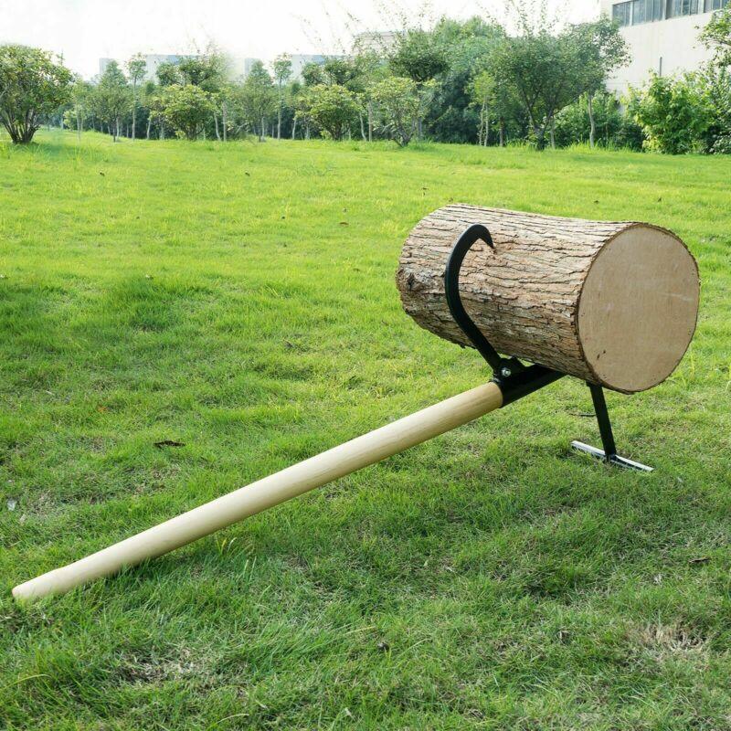 Log Lifter Timberjack Steel 48 Inch Up to 14.5 Inch Logs Lumberjack Helper