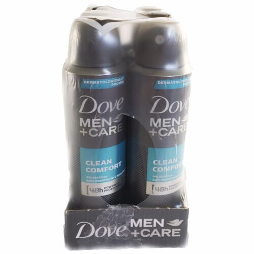 Dove Men Care Clean Comfort Spray Deodorant AntiPerspirant 150ml Selected