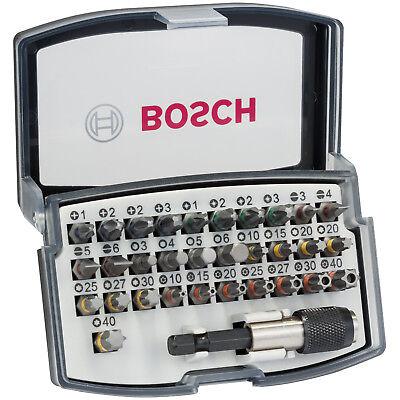 Bosch Professional Schrauberbit Set PRO, 32-teilig, Bithalter, Torx, PH, PZ, HEX