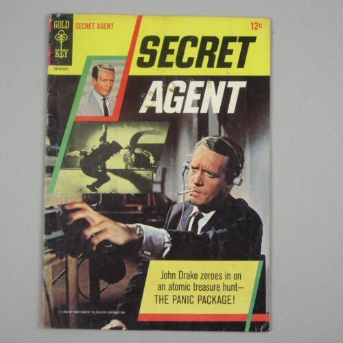 SECRET AGENT #1 Gold Key Comics January 1966