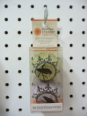 Martha Stewart Crafts Mini Treat Wrappers Halloween Cupcakes / choclates 96pc BN - Halloween Crafts Paper Plates