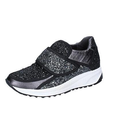 Nero 35 Liu Gri Sneakers Jo Eu UsatoScarpe Donna wnO80Pk