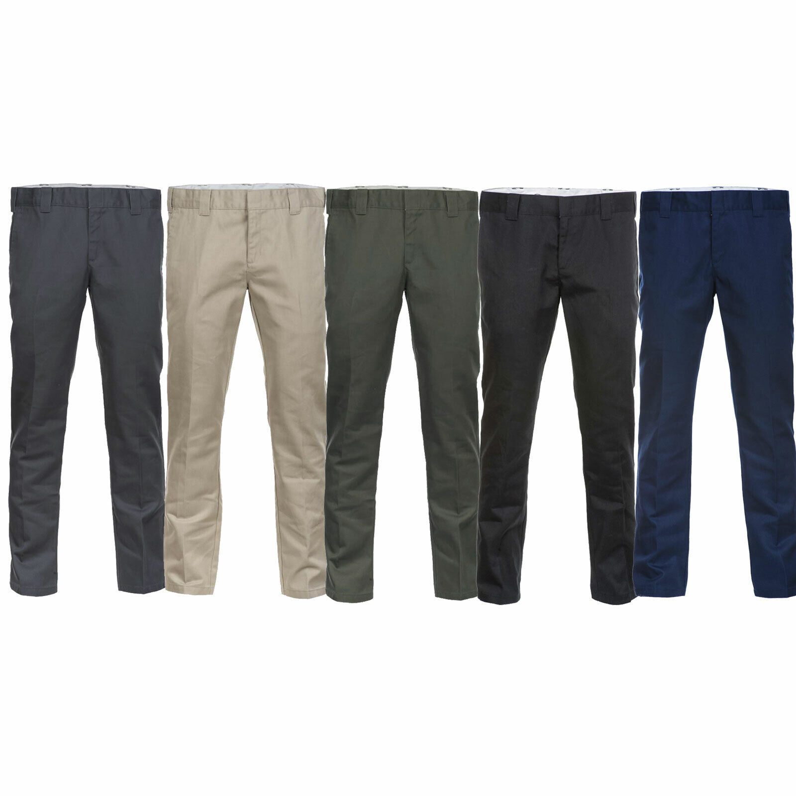 Dickies 872 Slim Fit Work Pant WE872 Men's Trousers Bügelfaltenhose Cloth New