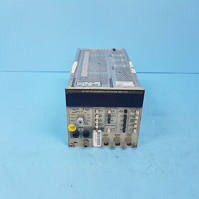 411-0401 Tektronix Aa5001 Programmable Distortion Analyzer Not Working