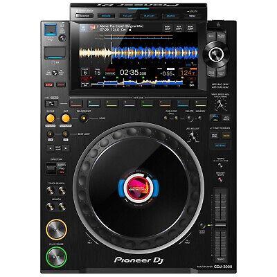 Pioneer CDJ-3000 Flagship Rekordbox High-Res Professional Club DJ Multi Player U