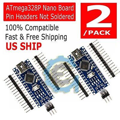 Atmega328p Nano V3 Controller Board Arduino Improved Version Module Unsoldered