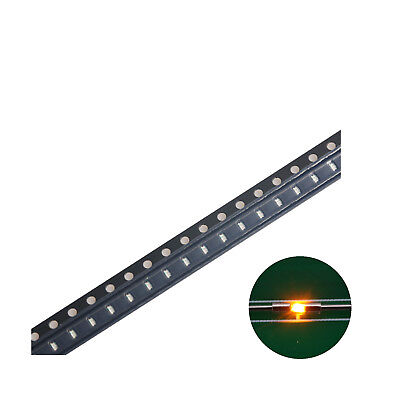500pcs 04021005 Smd Led Diode Lights Bulbyellow Ultra Bright Chips