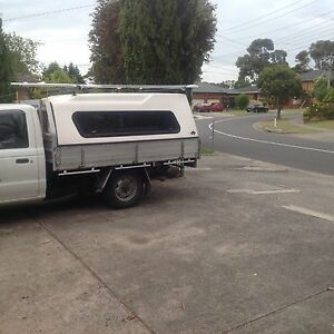 Fibreglass canopy  with heavy duty roof racks Dandenong North Greater Dandenong Preview