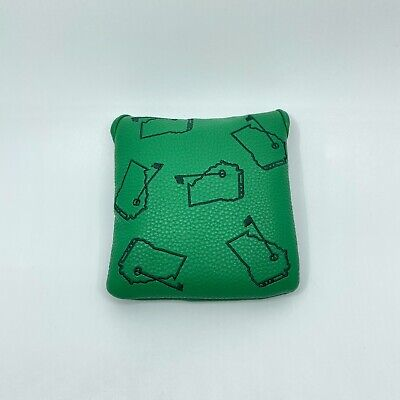 Saucy Golf Augusta Georgia Mallet Magnetic Golf Putter Headcover