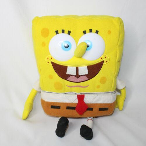 "Vintage Plush 9"" Spongebob Squarepants 2000 Preowned with Removable Pants"