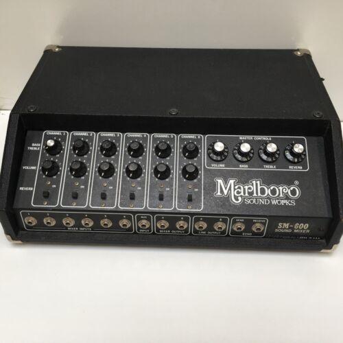 Marlboro Sound Works 1970s Model SM-600 Sound Mixer 6 Channel