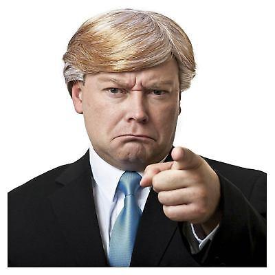 Mr.CEO Election Donald Trump Businessman Politician President Costume Blonde Wig