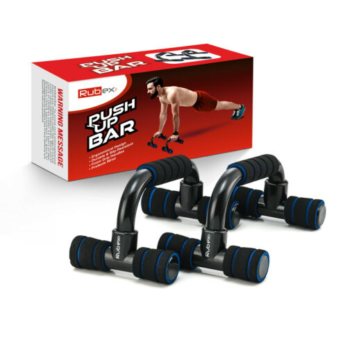 Push Up Bars Strength Training, with Foam Grip and Non-Slip Handles Structure