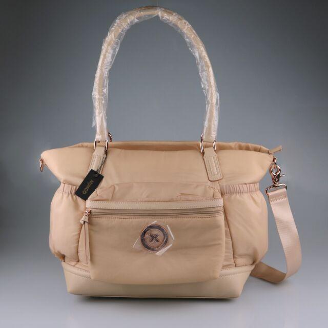 MIMCO Splendiosa Baby Bag Pancake Rose Gold Pink BNWT  RRP$299 Nappy Travel