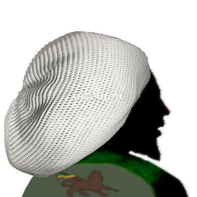 Rasta Dread Dreadlocks Tams Hat Beret Hippie Cap Reggae Marley Jamaica [XL] Fit](Rasta Dreadlocks)