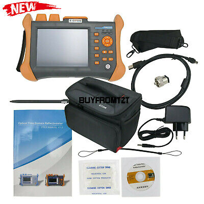 Otdr Sm Optical Time Domain Reflectometer 13101550nm 3230db Built-in Vfl 10mw