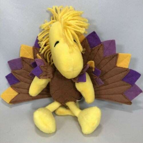 RARE Plush TURKEY WOODSTOCK for Thanksgiving by Hallmark