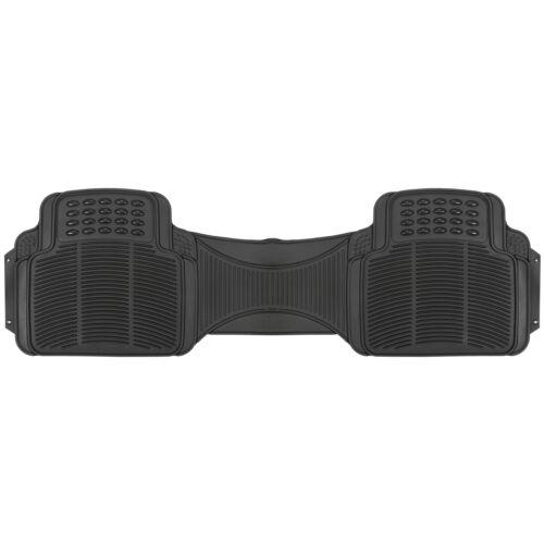 4PC Universal Floor Mats for Auto Car SUV Van All Weather Heavy Duty Black Set Car & Truck Parts