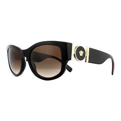 Versace Sunglasses VE4372 GB1/13 Black Brown Gradient