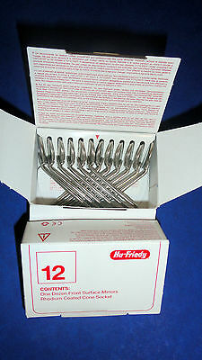 Dental Mouth Mirror No 04 Rhodium Pack 12 Mir412 Hu Friedy