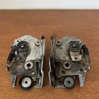 Porsche 356 A Door Latch Mechanism Pair ORIGINAL Keiper DBP 62/63 Date Codes