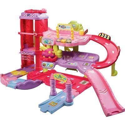 VTech Tut Tut Baby Flitzer - Parkgarage, Spielfigur, pink