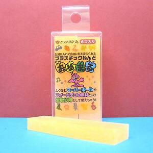 Oyumaru-Modeling-Compound-Moulding-Stick-Orange-6-pcs-set