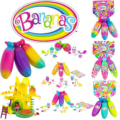 Bananas - Bright scented Bananas with cute crushie characters - Series 1 2 3