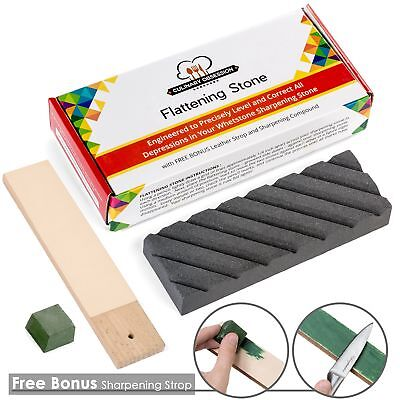 - Flattening Stone - The Best Way to Re-Level Sharpening Stones or Waterstones ...