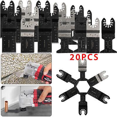 20 Pc Oscillating Multi Tool Saw Blade For Fein Multimaster Bosch Dremel Makita