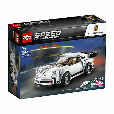 75895 LEGO Speed Champions 1974 Porsche 911 Turbo 3.0 Model 180 Pieces Age 7+