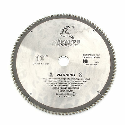 10 Carbide Circular Saw Blade Aluminum Cutting Saw Blade 100teeth