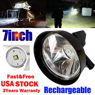 2500W CREE Handheld Spot Light Rechargeable LED Spotlight Hunting Shooting 12V (Handheld Led Light)