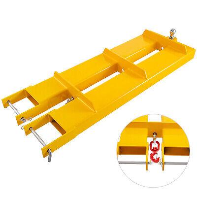 Forklift Mobile Crane 4400lbs Lifting Hoist Jib Boom Lifting Hook Receiver Ball