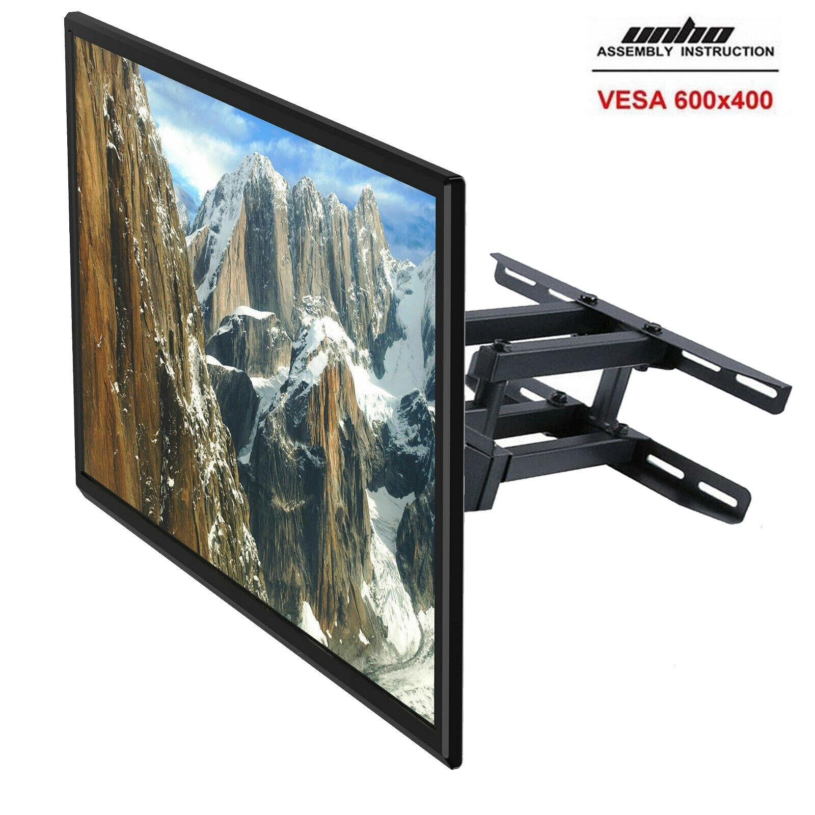 HEAVY DUTY DUAL ARM FULL MOTION TILT TV WALL MOUNT BRACKET 3270 FOR MOST MODEL