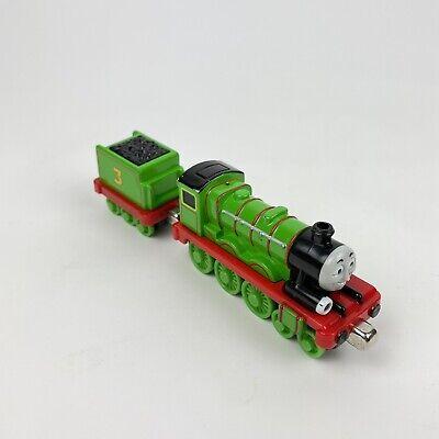 Thomas & Friends Trackmaster Motorized Train Engine Henry #3 tender 2009 Rare!