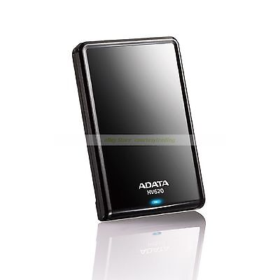 "Adata Black Ext HDD 1TB 1T HV620 USB3.0 2.5"" Portable External Hard Disk New 620"