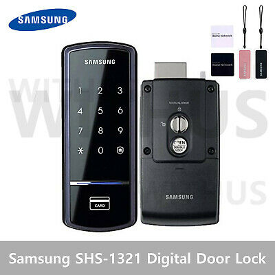 Samsung SHS-1321 Digital Smart Door Lock Touch Pad Home Security English Manual