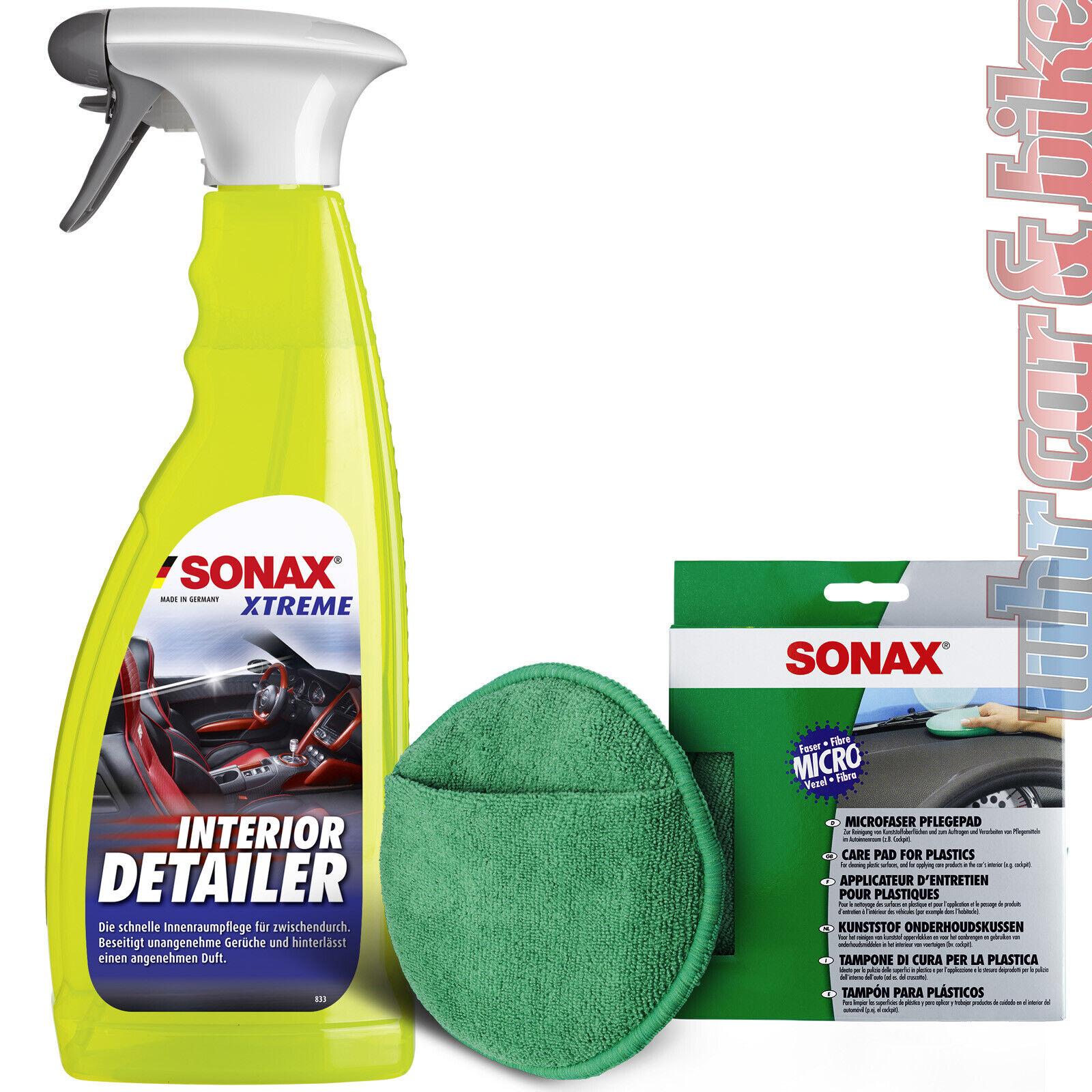 Sonax Xtreme Interior Detailer Auto-Innenreiniger inkl. Microfaser Pflegepad