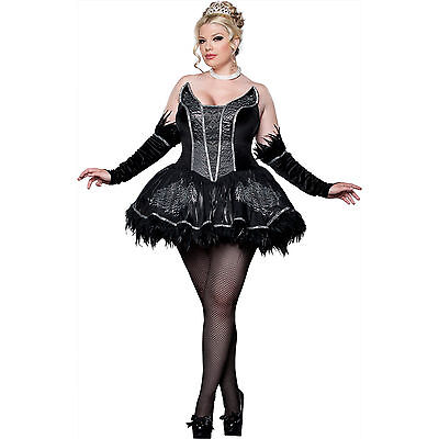 Black Swan Plus Size Elite Adult Costume Size 1X](Black Swan Costumes)