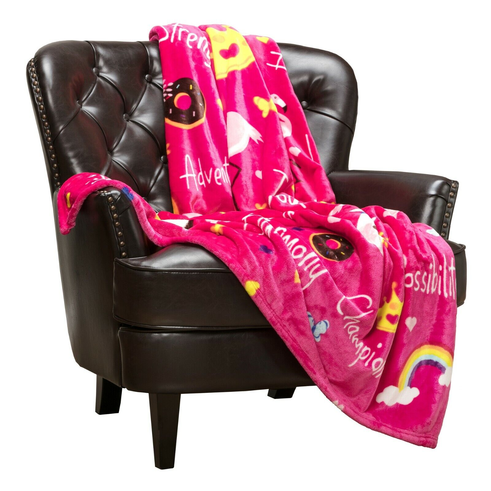 Chanasya Cozy Imagination Story Blanket for Children Kids To