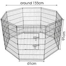 ♥♥♥ 8 Panel 36 inch Pet Play Pen ♥♥♥ Londonderry Penrith Area Preview