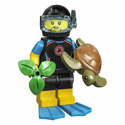 Lego Series 20 Minifigures Sea Rescuer (Girl Scuba Diver) 71027