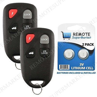 Replacement for 2003 2004 2005 Mazda 6 I S Remote Car Keyless Entry Key Fob Pair