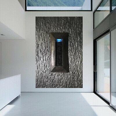 Gemälde XXL mit Brunnen **UNIKAT** 160x100 3D Wandbrunnen Modern Led Beleuchtung