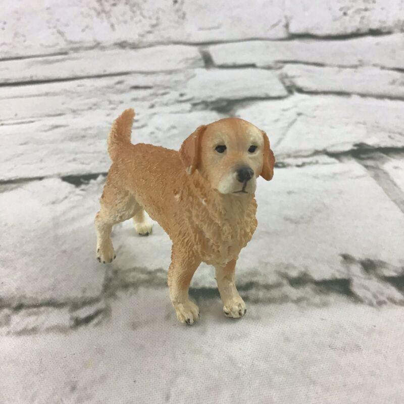 Schleich Rare Golden Retriever Dog Pet Figure Detailed Domestic Collectible Rare
