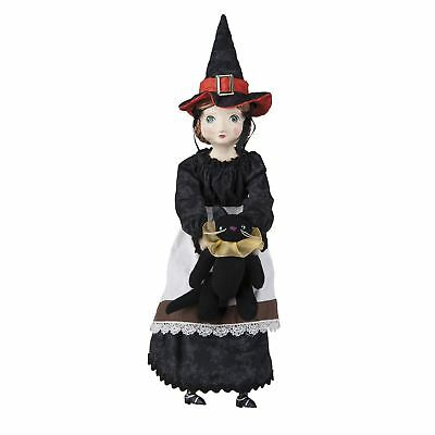 Sarah The Salem Witch Resin Plush Art Doll Retro Vintage Style Halloween Decor - Vintage Halloween Witch Dolls