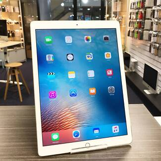 As new condition iPad Pro 12.9 Inch Gold 128G WIFI+CELL +charger
